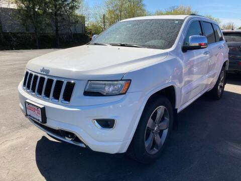 2014 Jeep Grand Cherokee for sale at Louisburg Garage, Inc. in Cuba City WI