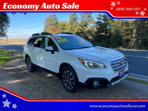 2017 Subaru Outback for sale at Economy Auto Sale in Modesto CA