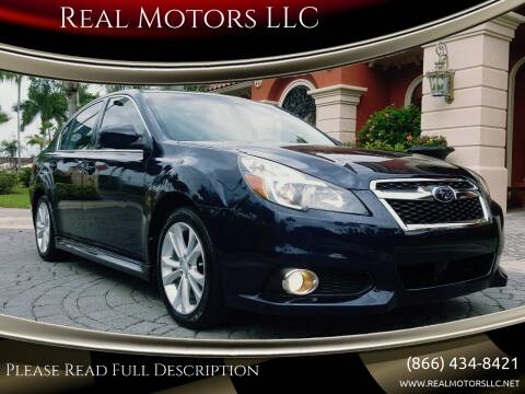 2013 Subaru Legacy for sale at Real Motors LLC in Clearwater FL