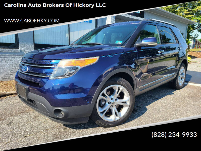 2011 Ford Explorer for sale at Carolina Auto Brokers of Hickory LLC in Newton NC
