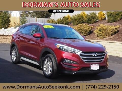 2017 Hyundai Tucson for sale at DORMANS AUTO CENTER OF SEEKONK in Seekonk MA
