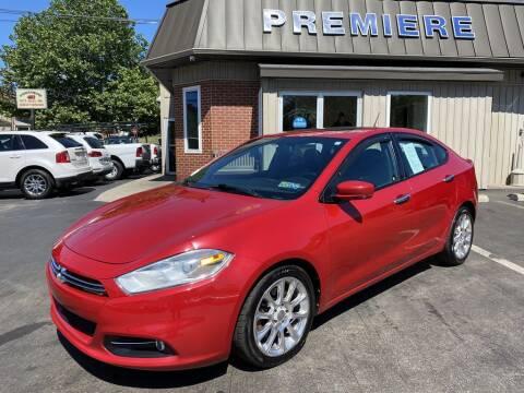 2013 Dodge Dart for sale at Premiere Auto Sales in Washington PA