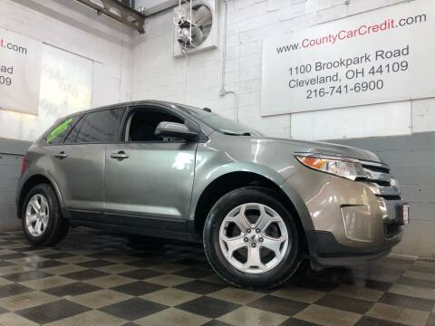 2014 Ford Edge for sale at County Car Credit in Cleveland OH
