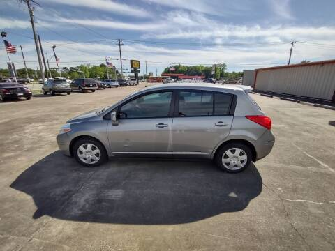2012 Nissan Versa for sale at BIG 7 USED CARS INC in League City TX