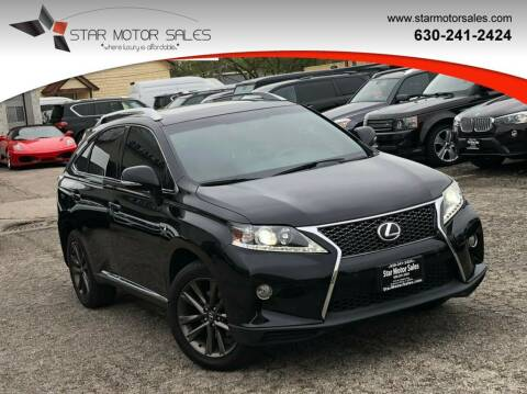 2013 Lexus RX 350 for sale at Star Motor Sales in Downers Grove IL
