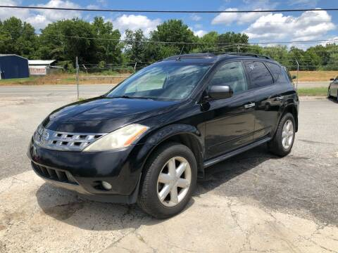 2005 Nissan Murano for sale at Celaya Auto Sales LLC in Greensboro NC