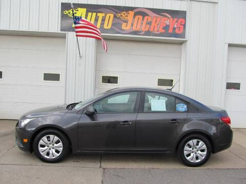 2014 Chevrolet Cruze for sale at AUTO JOCKEYS LLC in Merrill WI