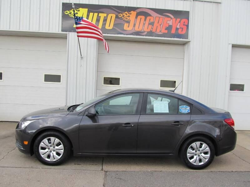 2014 Chevrolet Cruze for sale at AUTO JOCKEYS LLC in Merrill WI