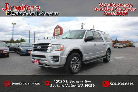 2017 Ford Expedition EL for sale at Jennifer's Auto Sales in Spokane Valley WA
