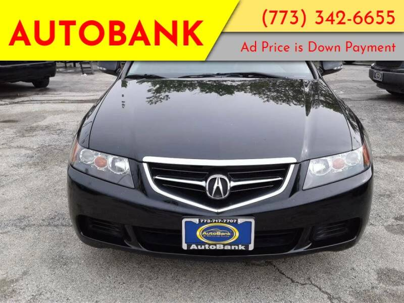 2005 Acura TSX for sale at AutoBank in Chicago IL