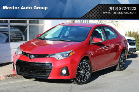 2015 Toyota Corolla for sale at Master Auto Group in Raleigh NC