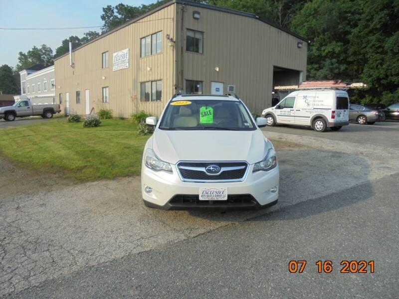 2013 Subaru XV Crosstrek for sale at Exclusive Auto Sales & Service in Windham NH