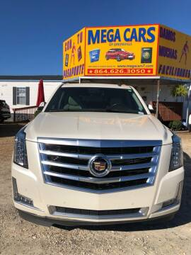 2015 Cadillac Escalade for sale at Mega Cars of Greenville in Greenville SC