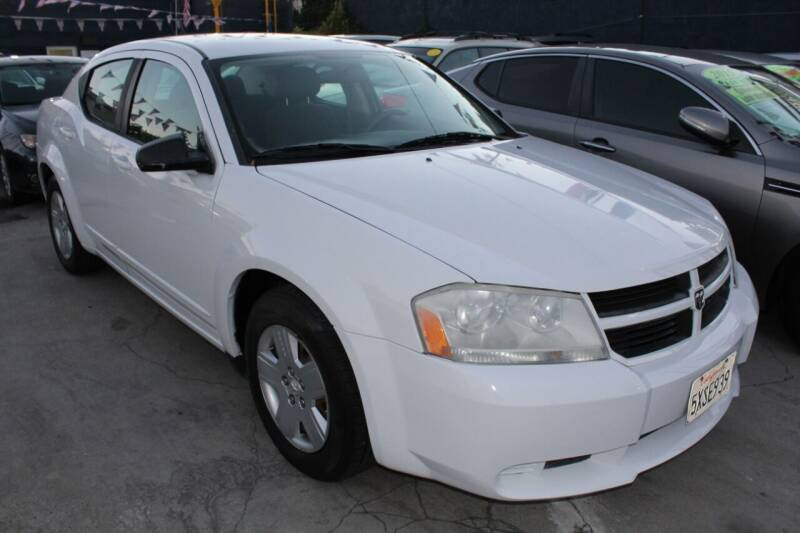 2008 Dodge Avenger for sale at Good Vibes Auto Sales in North Hollywood CA