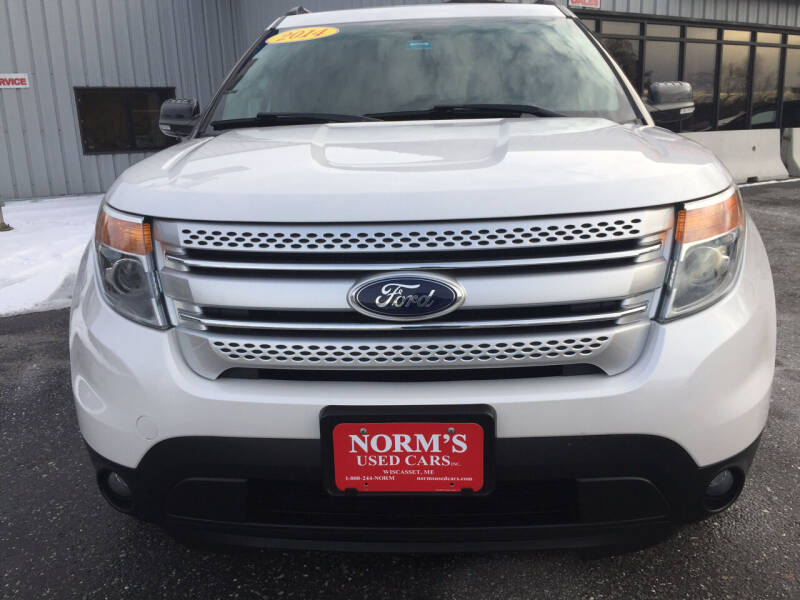 2014 Ford Explorer for sale at NORM'S USED CARS INC - Trucks By Norm's in Wiscasset ME