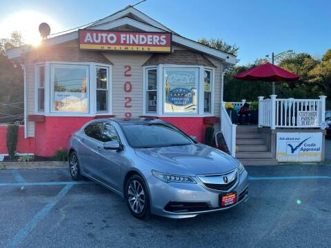 2016 Acura TLX for sale at Auto Finders Unlimited LLC in Vineland NJ