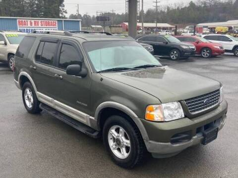 2002 Ford Explorer for sale at Greenbrier Auto Sales in Greenbrier AR