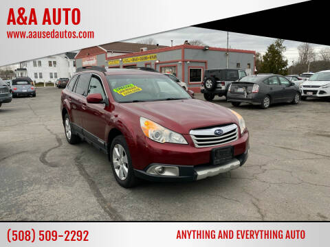 2011 Subaru Outback for sale at A&A AUTO in Fairhaven MA