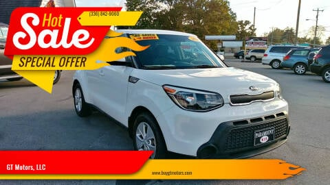 2016 Kia Soul for sale at GT Motors, LLC in Elkin NC