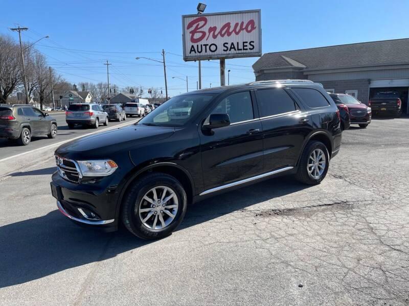 2018 Dodge Durango for sale at Bravo Auto Sales in Whitesboro NY