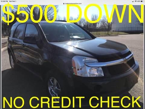 2009 Chevrolet Equinox for sale at Cooks Motors in Westampton NJ