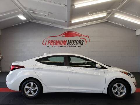 2015 Hyundai Elantra for sale at Premium Motors in Villa Park IL