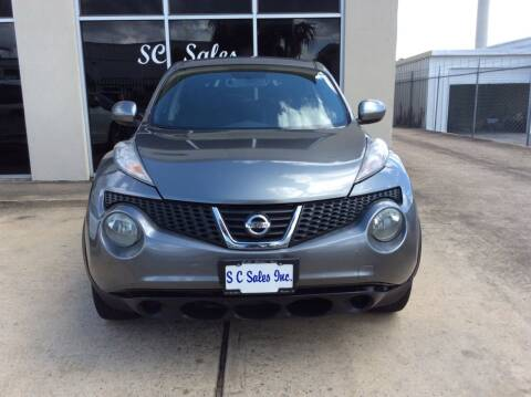 2011 Nissan JUKE for sale at SC SALES INC in Houston TX
