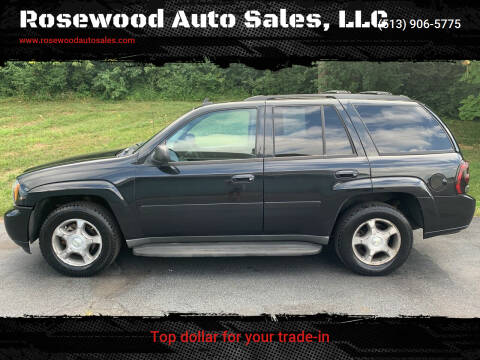 2008 Chevrolet TrailBlazer for sale at Rosewood Auto Sales, LLC in Hamilton OH