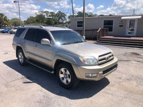 2004 Toyota 4Runner for sale at Friendly Finance Auto Sales in Port Richey FL