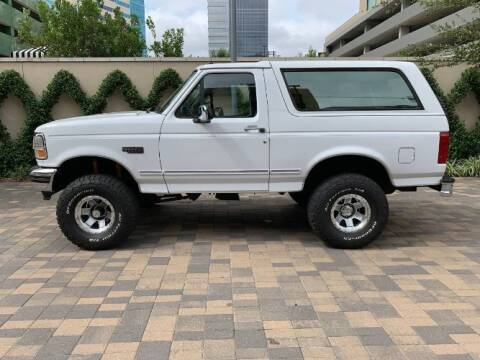 1994 Ford Bronco for sale at Classic Car Deals in Cadillac MI