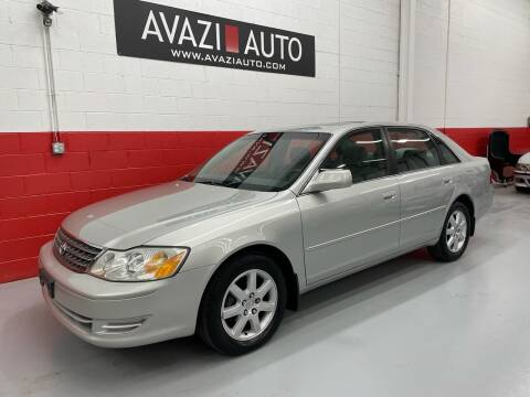 2004 Toyota Avalon for sale at AVAZI AUTO GROUP LLC in Gaithersburg MD