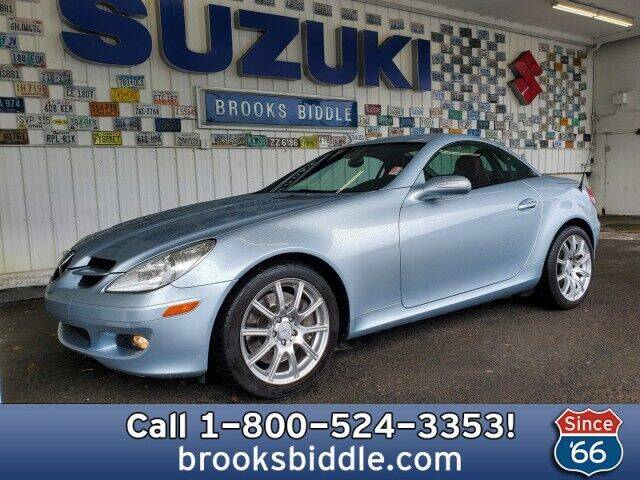 2007 Mercedes-Benz SLK for sale at BROOKS BIDDLE AUTOMOTIVE in Bothell WA