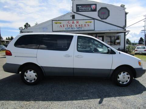 1999 Toyota Sienna for sale at G&R Auto Sales in Lynnwood WA