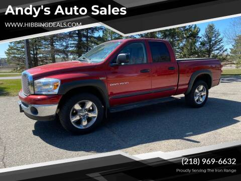 2007 Dodge Ram Pickup 1500 for sale at Andy's Auto Sales in Hibbing MN