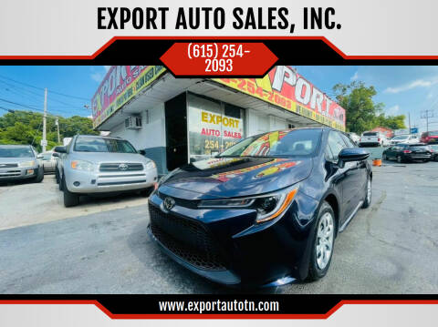 2020 Toyota Corolla for sale at EXPORT AUTO SALES, INC. in Nashville TN