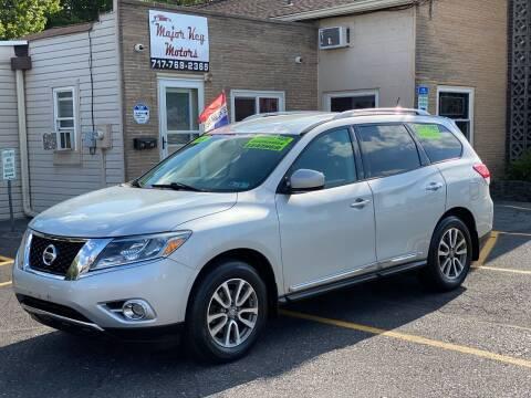 2014 Nissan Pathfinder for sale at Major Key Motors in Lebanon PA
