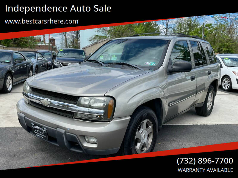 2002 Chevrolet TrailBlazer for sale at Independence Auto Sale in Bordentown NJ