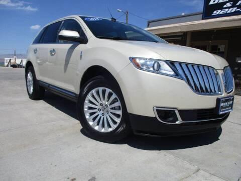 2014 Lincoln MKX for sale at Beach Auto and RV Sales in Lake Havasu City AZ
