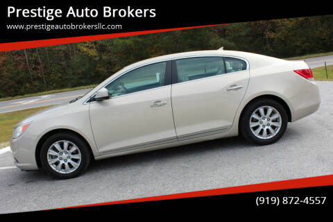 2012 Buick LaCrosse for sale at Prestige Auto Brokers in Raleigh NC