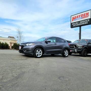 2016 Honda HR-V for sale at Hayden Cars in Coeur D Alene ID