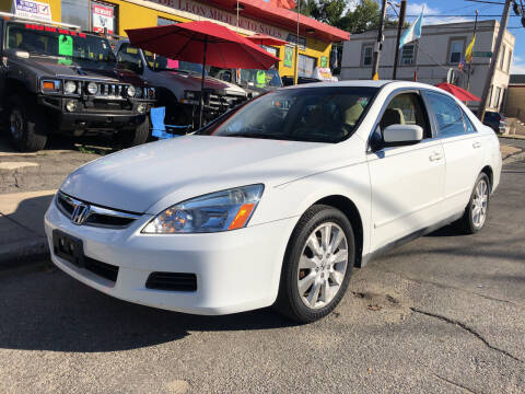 2007 Honda Accord for sale at Deleon Mich Auto Sales in Yonkers NY