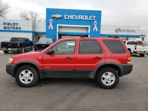 2001 Ford Escape for sale at Finley Motors in Finley ND