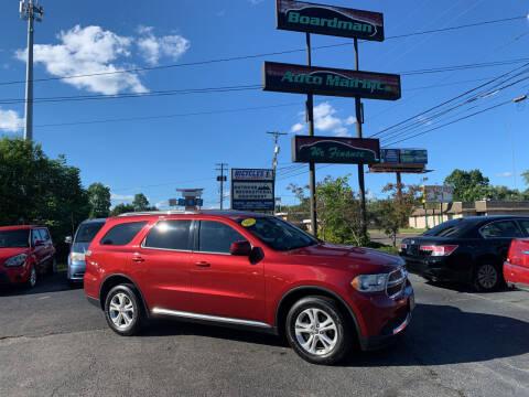 2013 Dodge Durango for sale at Boardman Auto Mall in Boardman OH