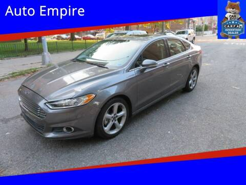 2013 Ford Fusion for sale at Auto Empire in Brooklyn NY