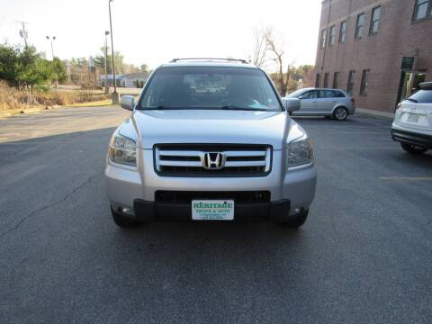 2006 Honda Pilot for sale at Heritage Truck and Auto Inc. in Londonderry NH