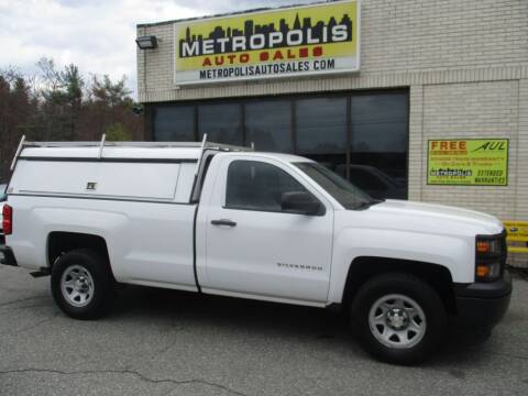 2014 Chevrolet Silverado 1500 for sale at Metropolis Auto Sales in Pelham NH