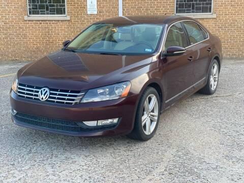 2012 Volkswagen Passat for sale at Auto Start in Oklahoma City OK