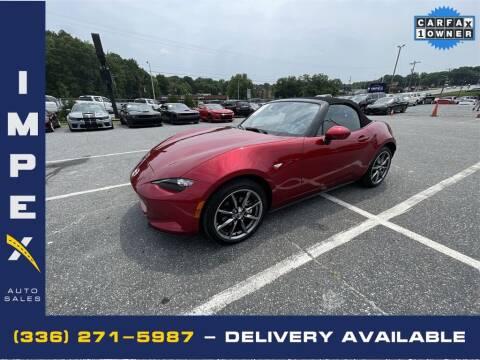 2021 Mazda MX-5 Miata for sale at Impex Auto Sales in Greensboro NC
