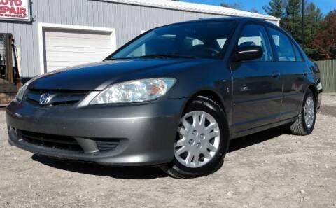2004 Honda Civic for sale at Hilltop Auto in Clare MI