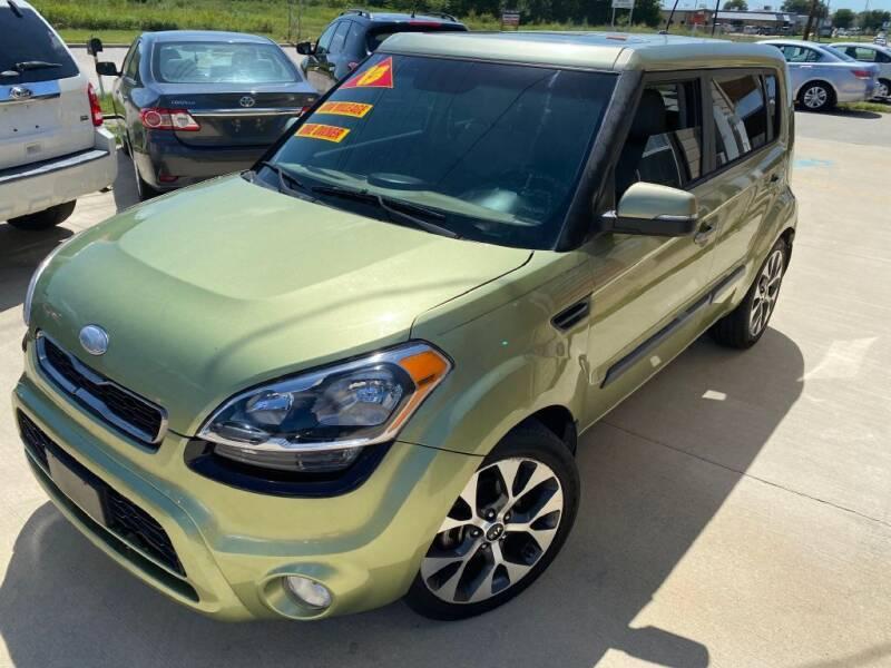 2013 Kia Soul for sale at Raj Motors Sales in Greenville TX